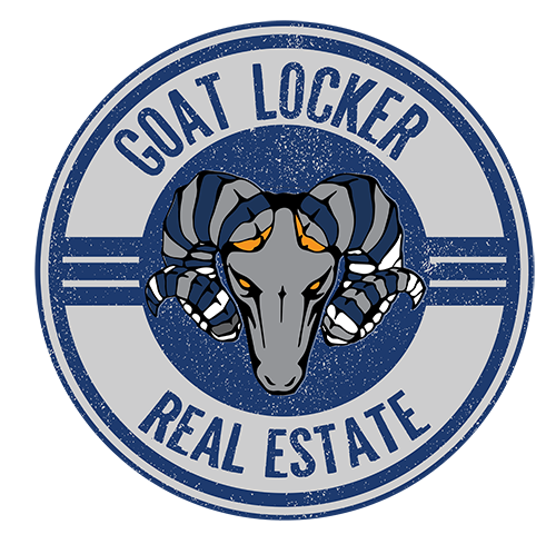 goat locker real estate logo