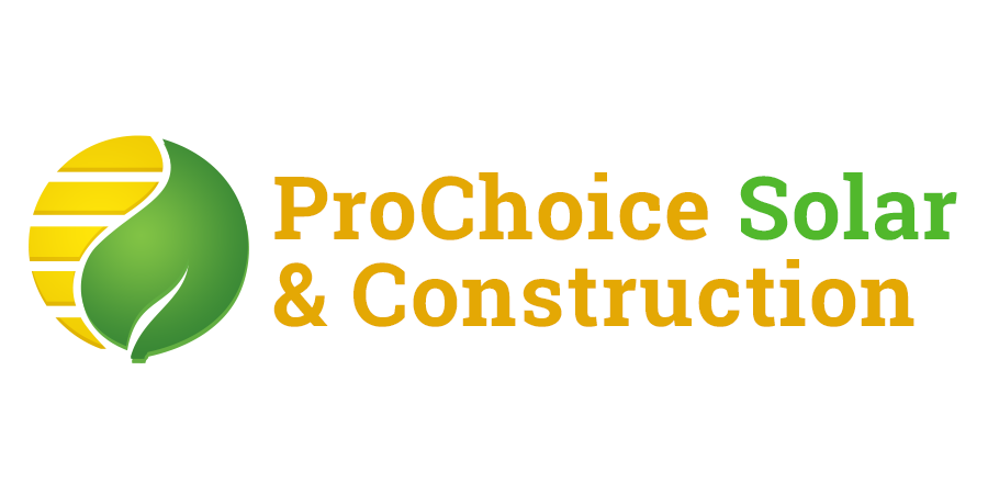 prochoice solar and construction logo
